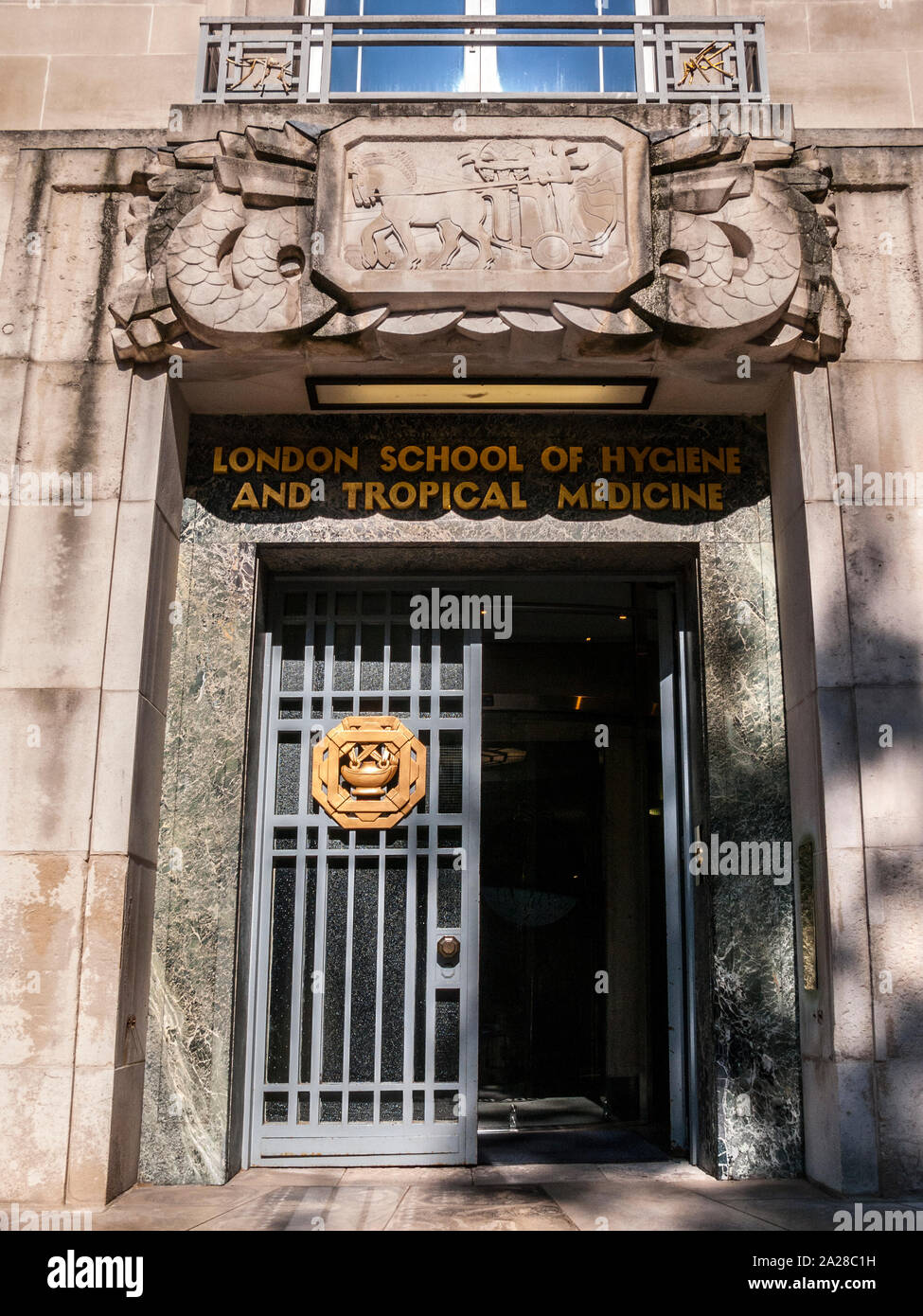 London School of Hygiene and Tropical Medicine Stock Photo