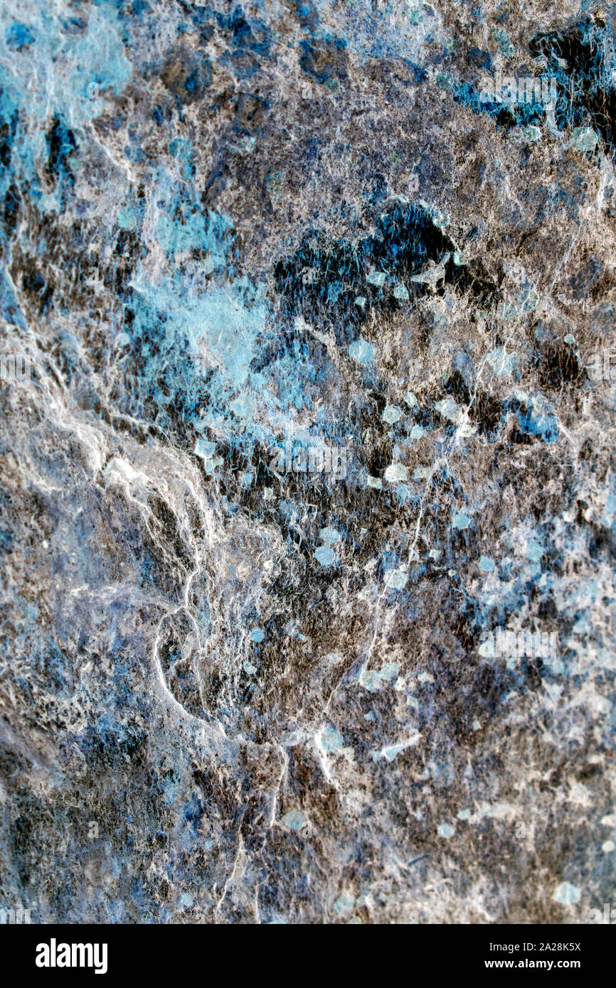 Abstract Turquoise Blue Grey Stone Stock Photo