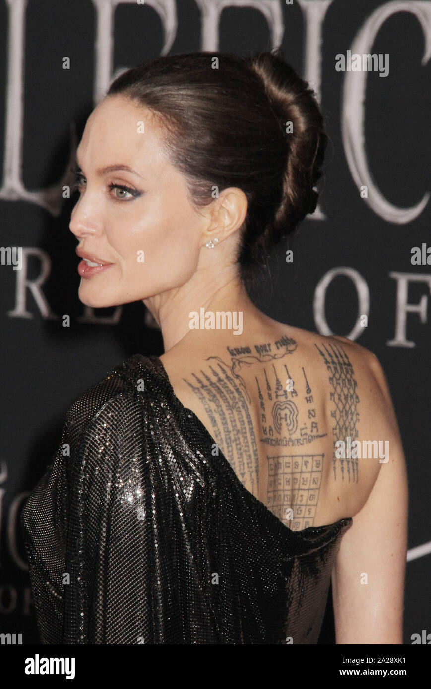 Angelina Jolie 09 30 2019 The World Premiere Of Maleficent