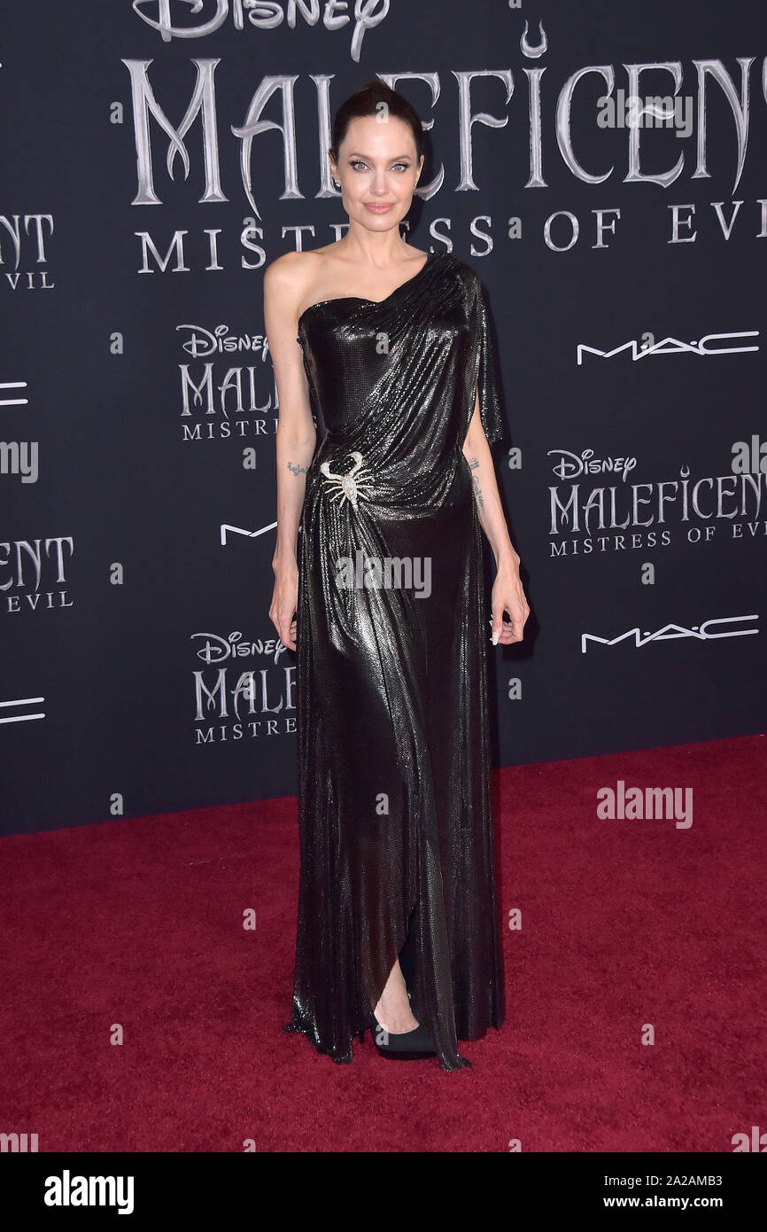Los Angeles Usa 30th Sep 2019 Angelina Jolie At The