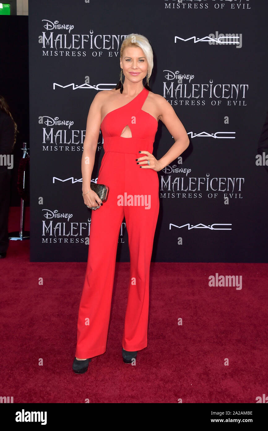 Los Angeles Usa 30th Sep 2019 Mckenzie Westmore At The