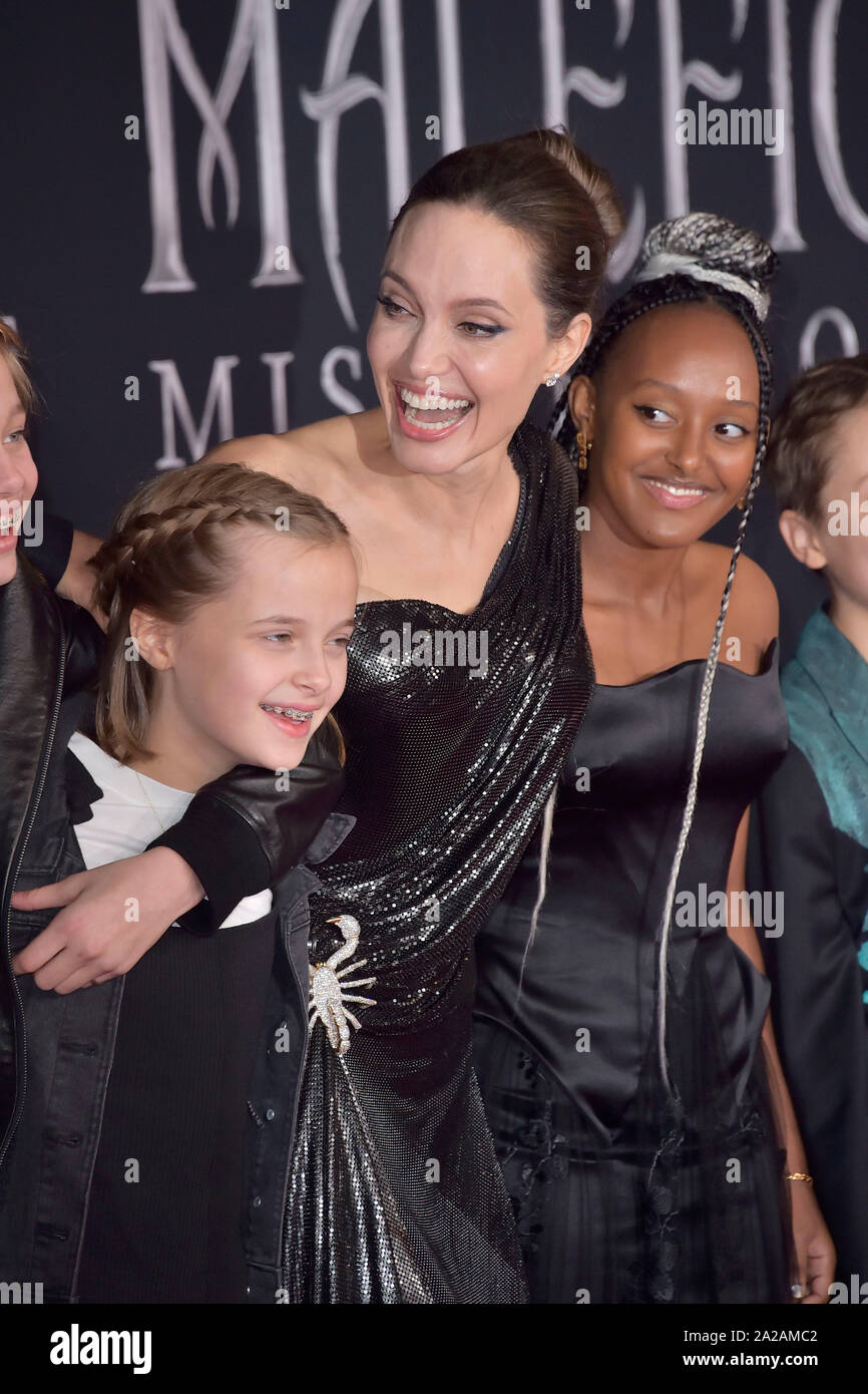 Vivienne Marcheline Jolie Pitt Angelina Jolie And Zahara