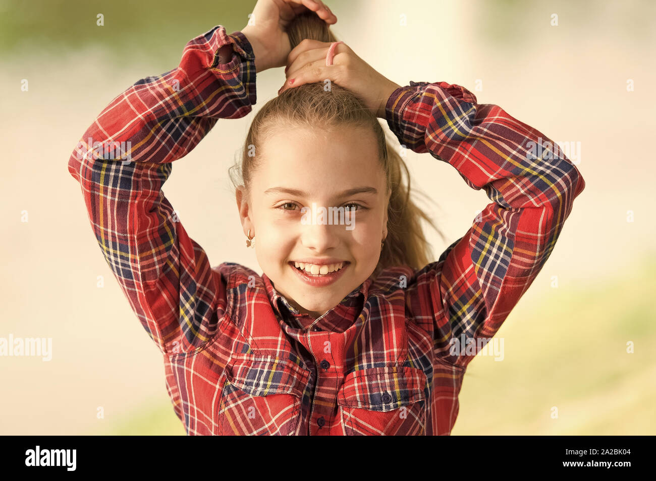 Excellent I Love Doing Hair Cute Little Child Doing Her Fancy Ponytail Hair Schematic Wiring Diagrams Amerangerunnerswayorg