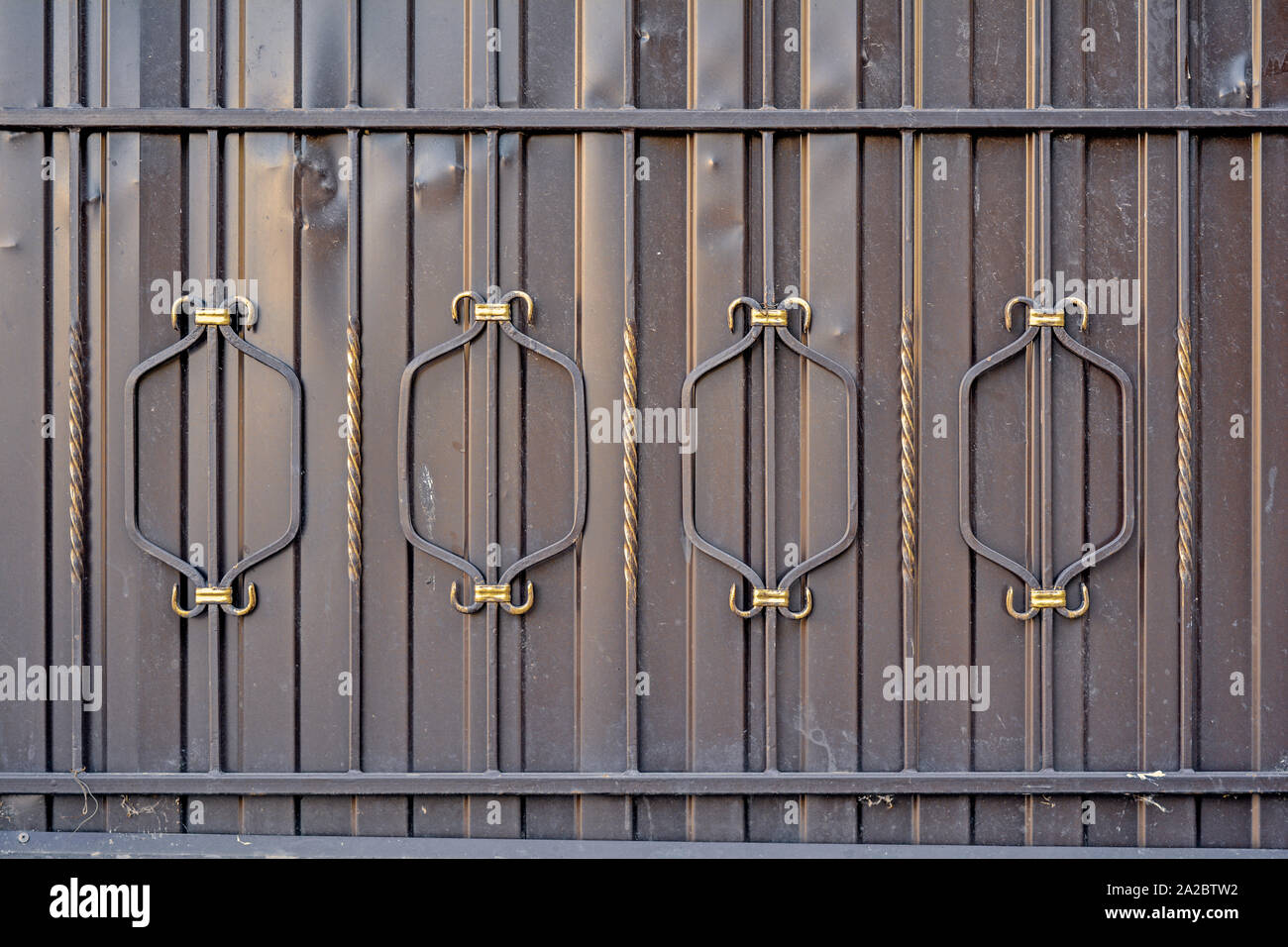Element Of Architectural Decorative Exterior Metal Fence