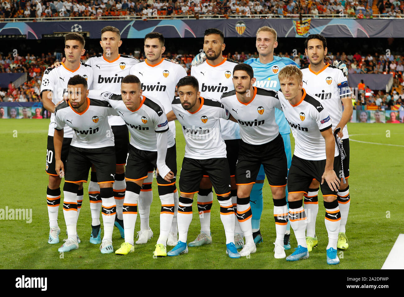Валенсия команда футбол