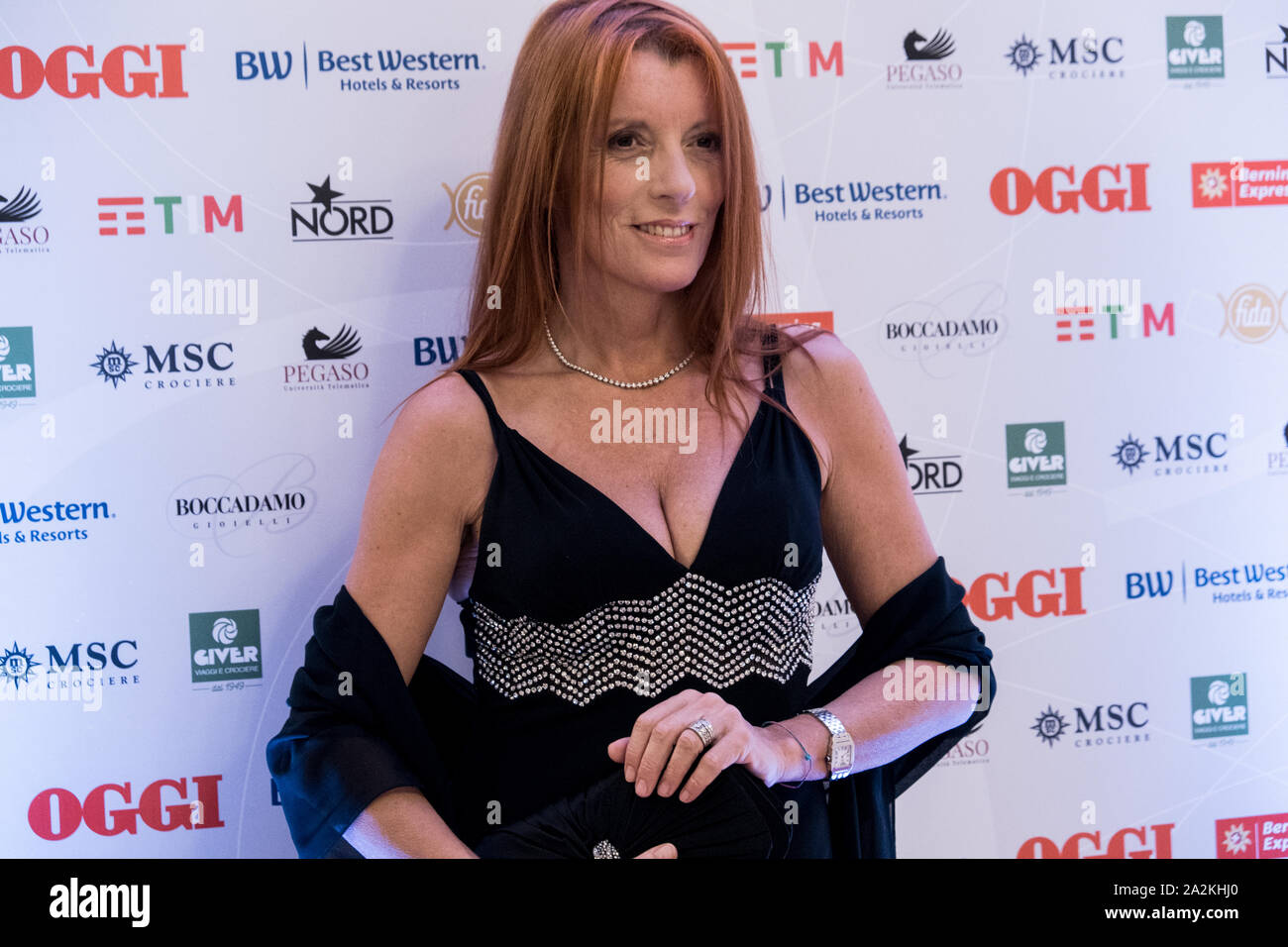 Deputy Michela Vittoria Brambilla attends the OGGI magazine's birthday  party, at Principe di Savoia Hotel in Milano Stock Photo - Alamy
