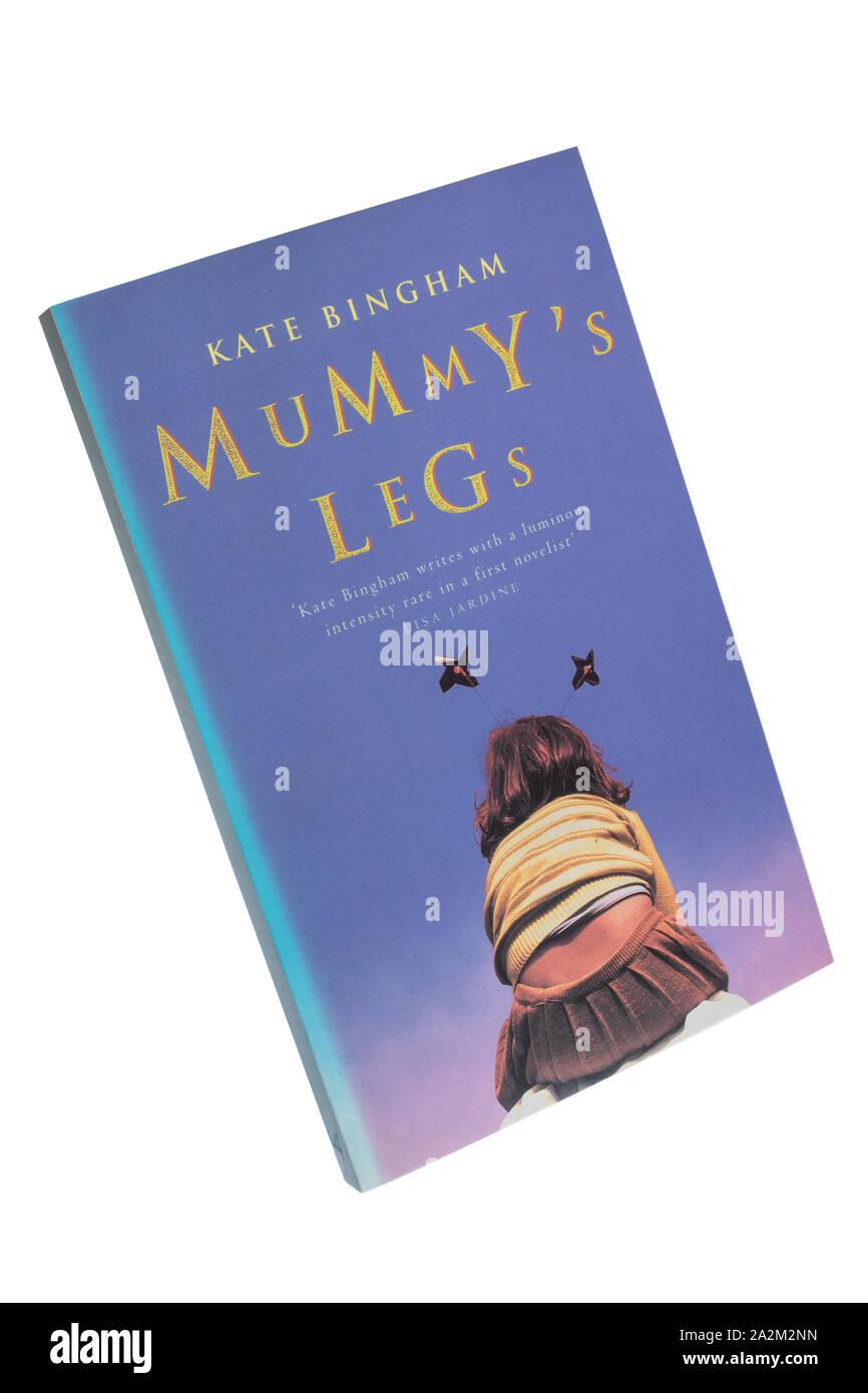 Mummy's legs paperback book, a novel by Kate Bingham Stock Photo