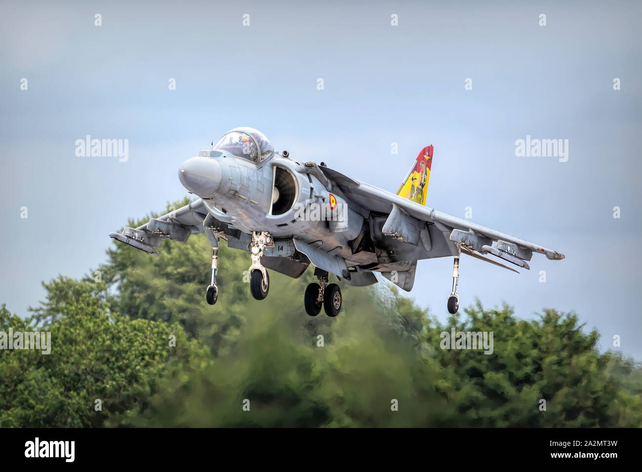 Armada Espanola Harrier AV-8B II Stock Photo