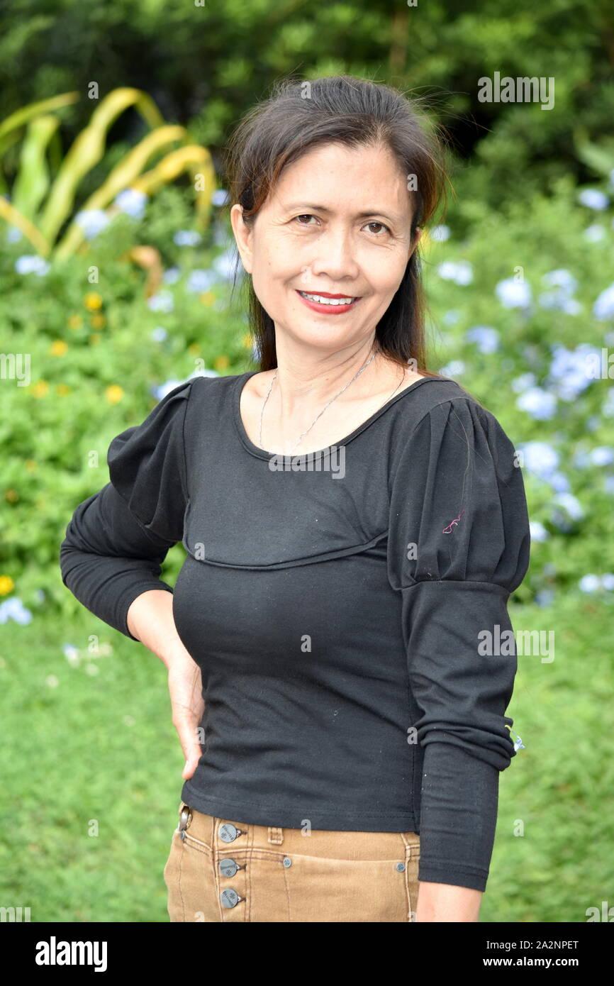 Asian Skinny Granny