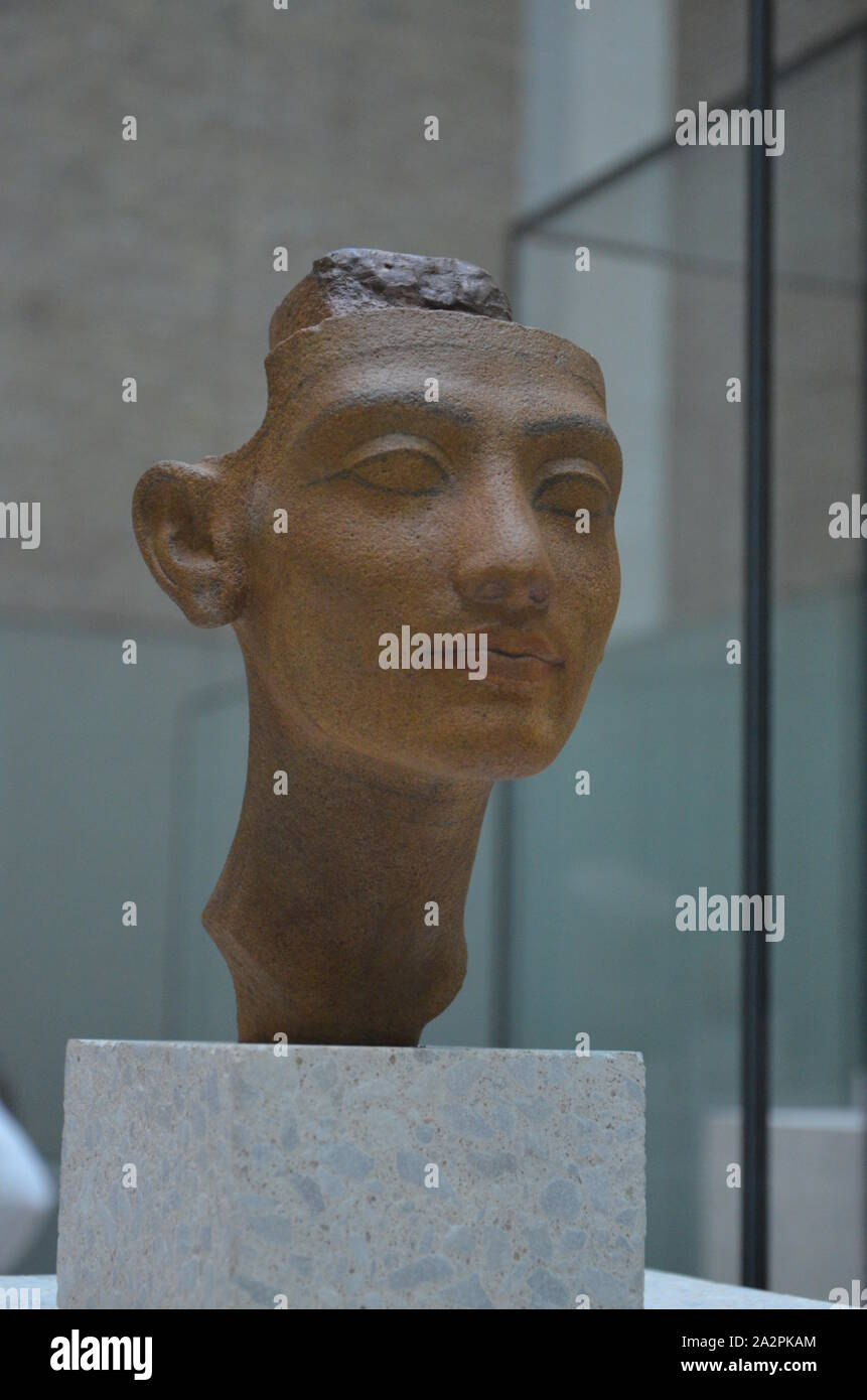 Neues Museum in Berlin Stock Photo