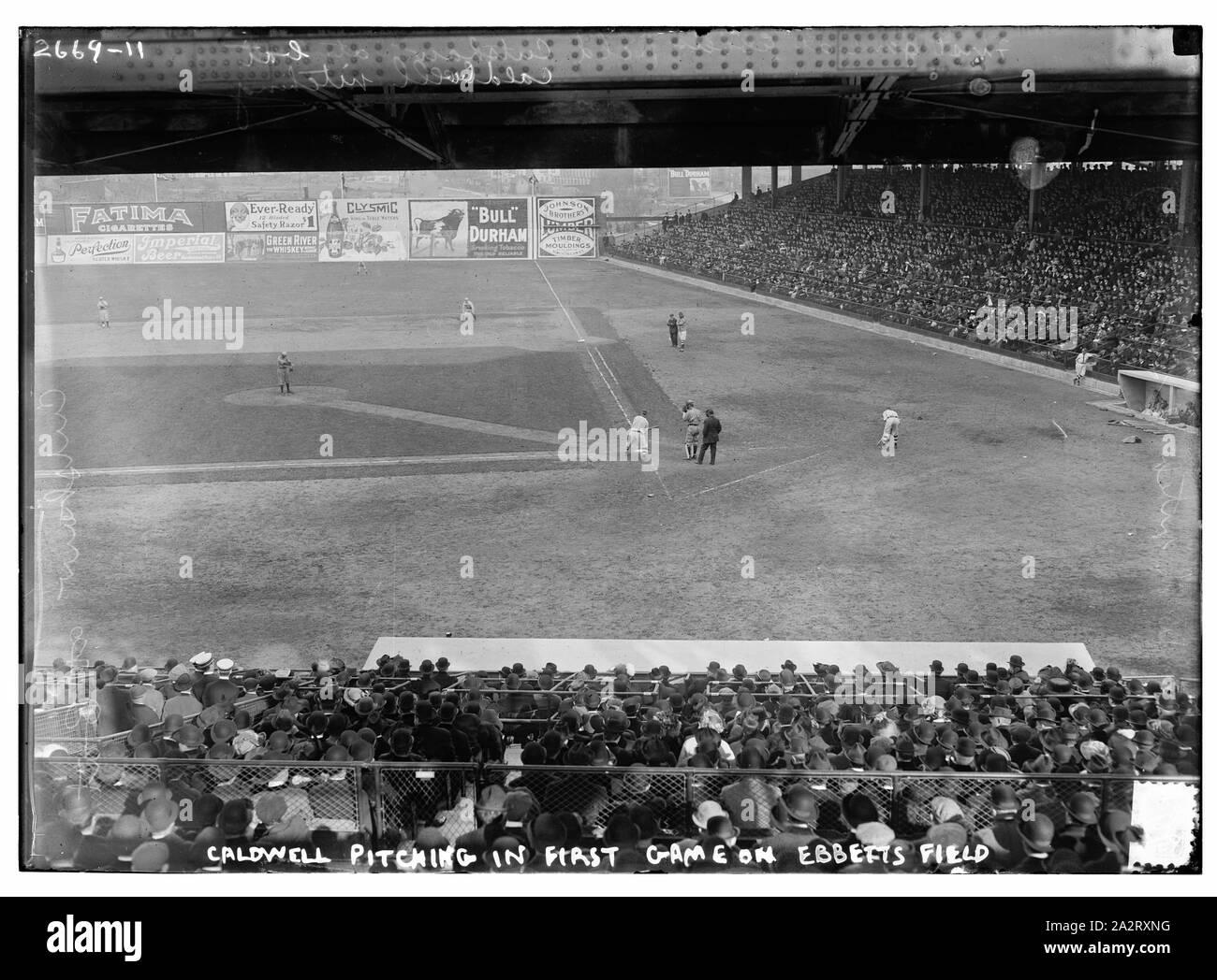 MLB Brooklyn Dodgers Vintage Ebbets Field 1913 Baseball Tee Shirt