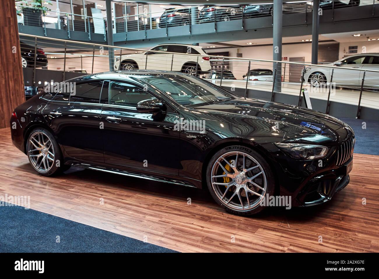 Mercedes Benz Dealers >> Germany Dusseldorf July 17 2019 The New Modern Mercedes