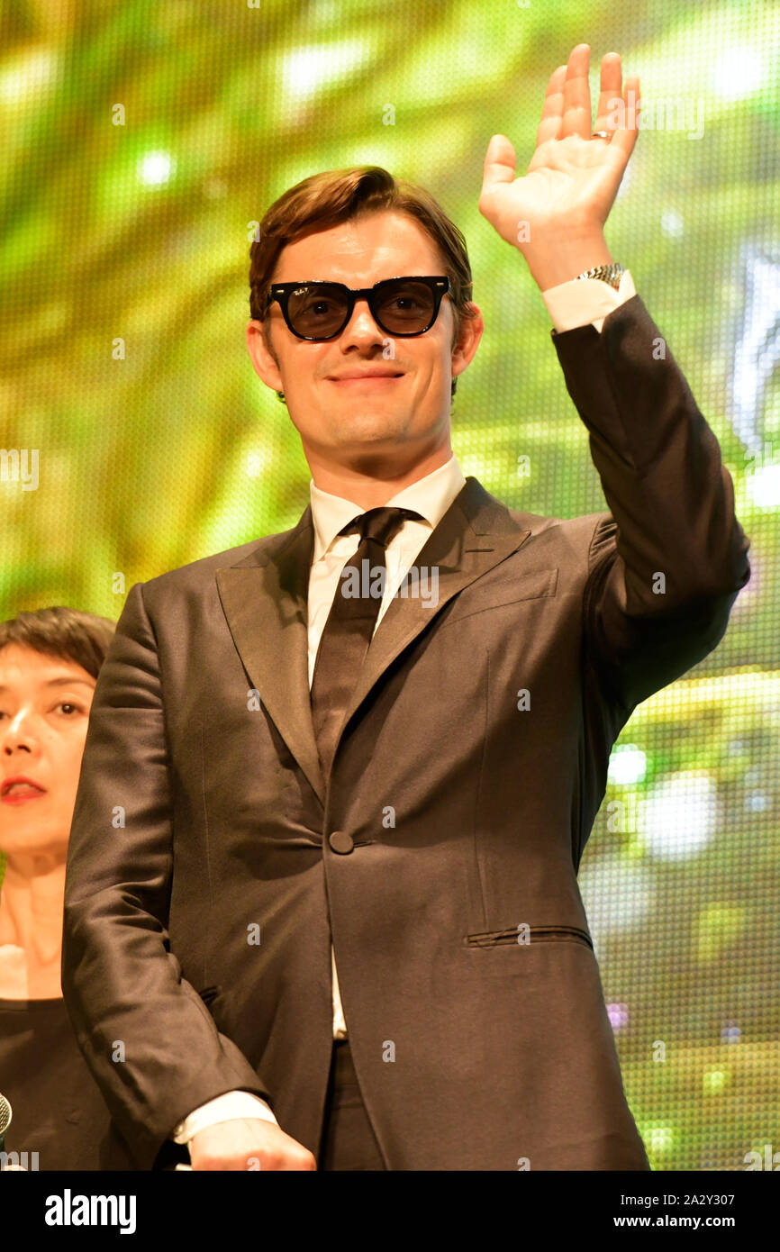 Actor Sam Riley Attends The Japan Premiere For Disney S