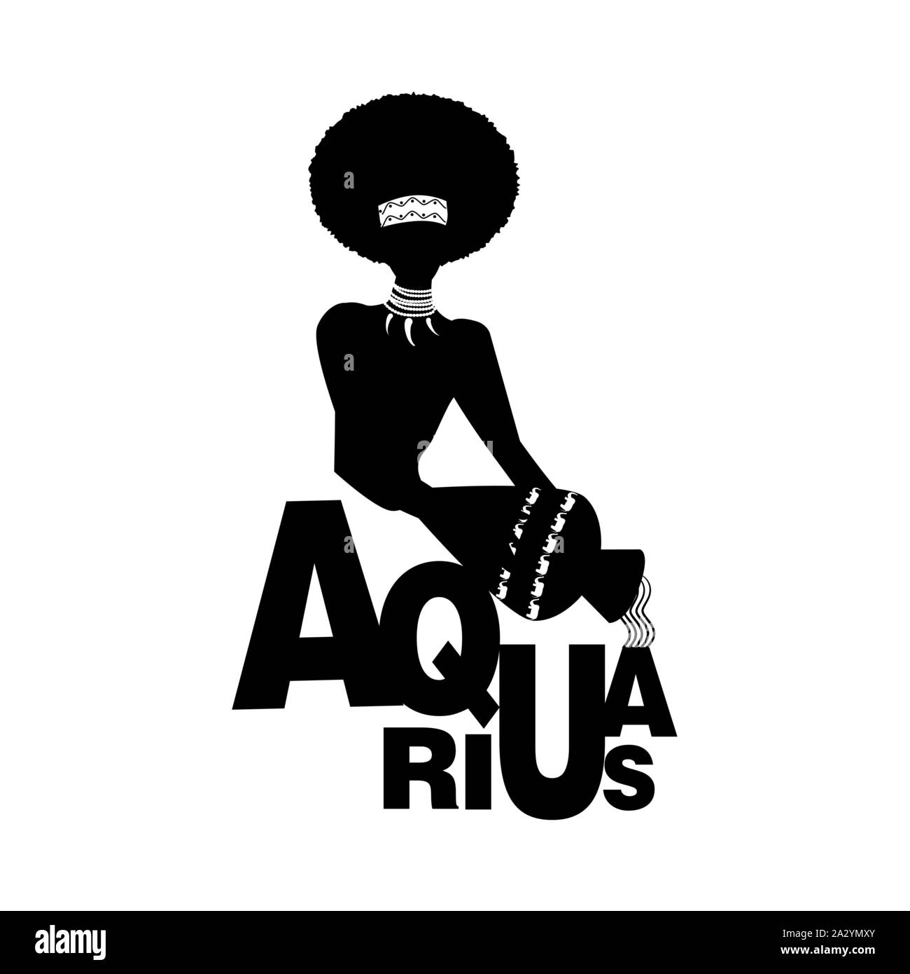 Aquarius The Water Carrier High Resolution Stock Photography And Images Alamy