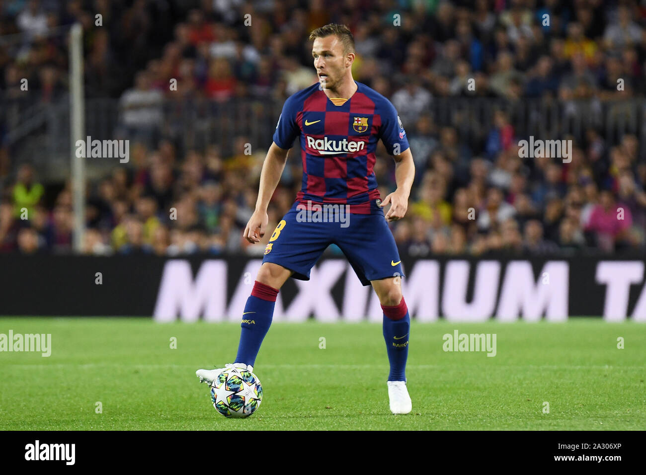 arthur melo of fc barcelona during the match fc barcelona v juventus fc of uefa womens champions league 2019 2020 season round of 32 johan cruyff stadium barcelona spain 25 sep 2019 stock photo alamy https www alamy com arthur melo of fc barcelona during the match fc barcelona v juventus fc of uefa womens champions league 20192020 season round of 32 johan cruyff stadium barcelona spain 25 sep 2019 image328846414 html