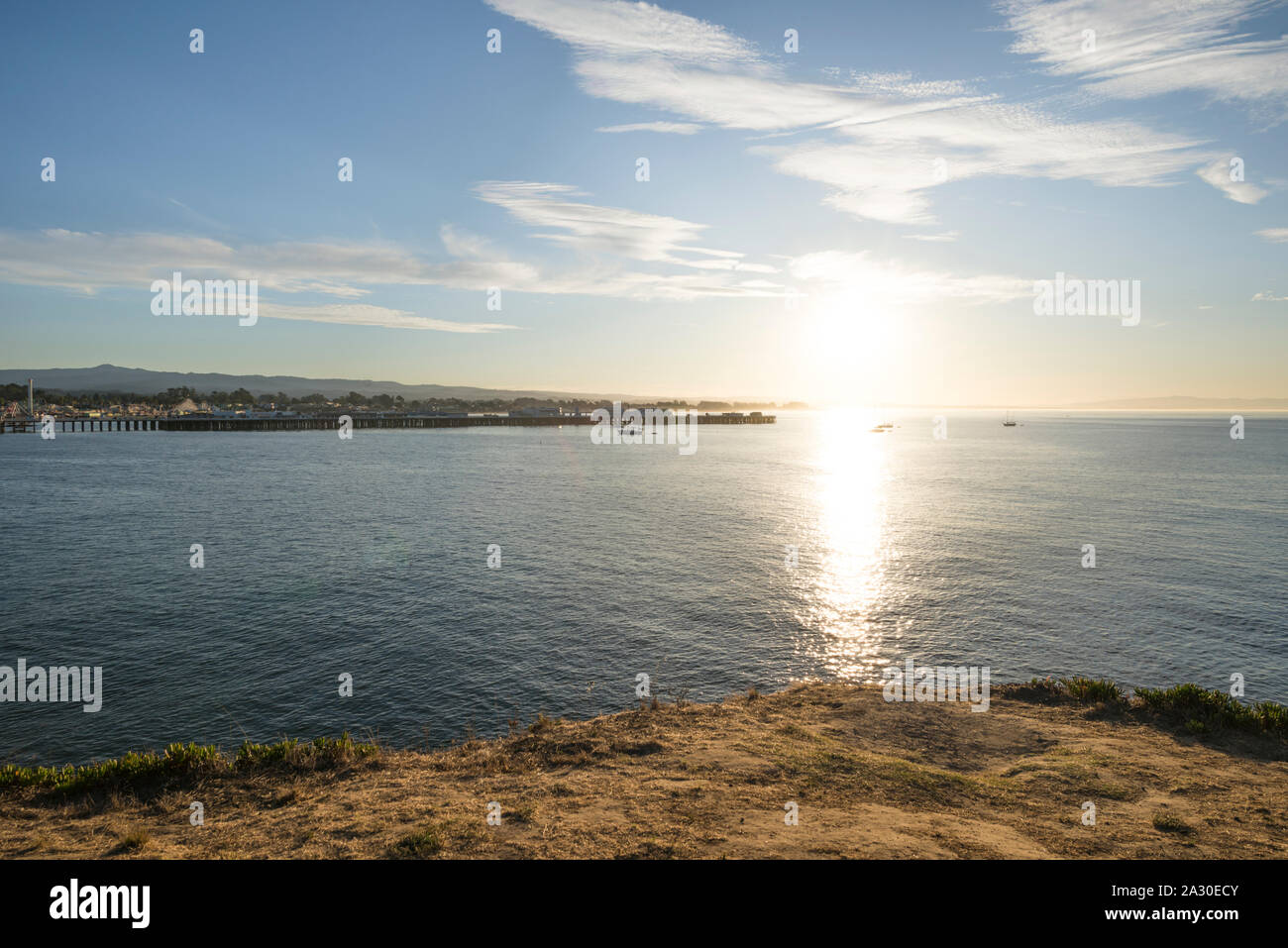 Santa Cruz, California, USA. Stock Photo