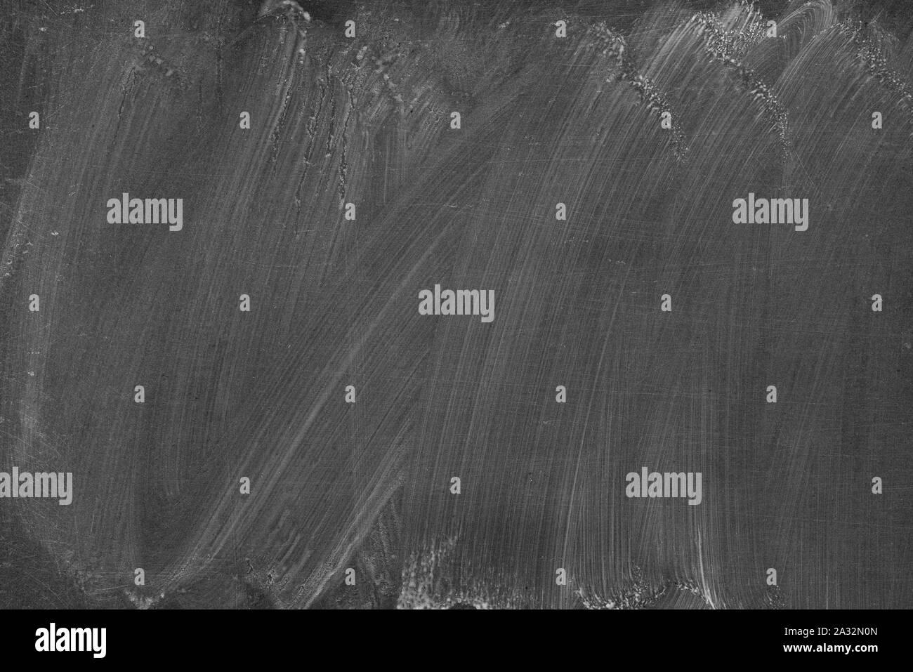 Old, dirty blackboard or chalkboard Stock Photo