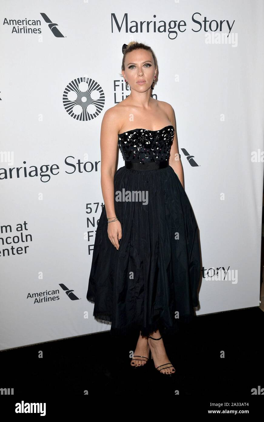 New York Usa 04th Oct 2019 Scarlett Johansson At Arrivals For Marriage Story Premiere At New York Film Festival Nyff Alice Tully Hall At Lincoln Center New York Ny October 4 2019