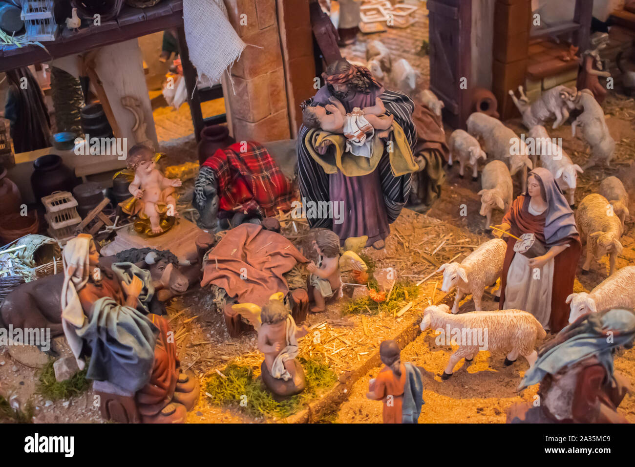 Birth Of Christmas High Resolution Stock Photography And Images Alamy