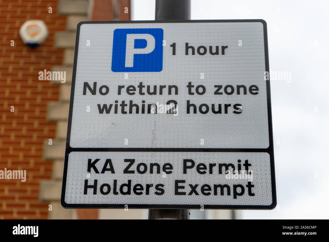 Parking Permit High Resolution Stock Photography And Images Alamy