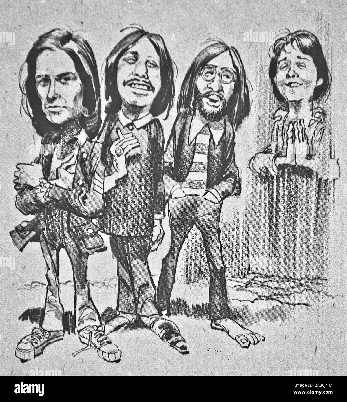 John Lennon Caricature High Resolution Stock Photography And Images Alamy