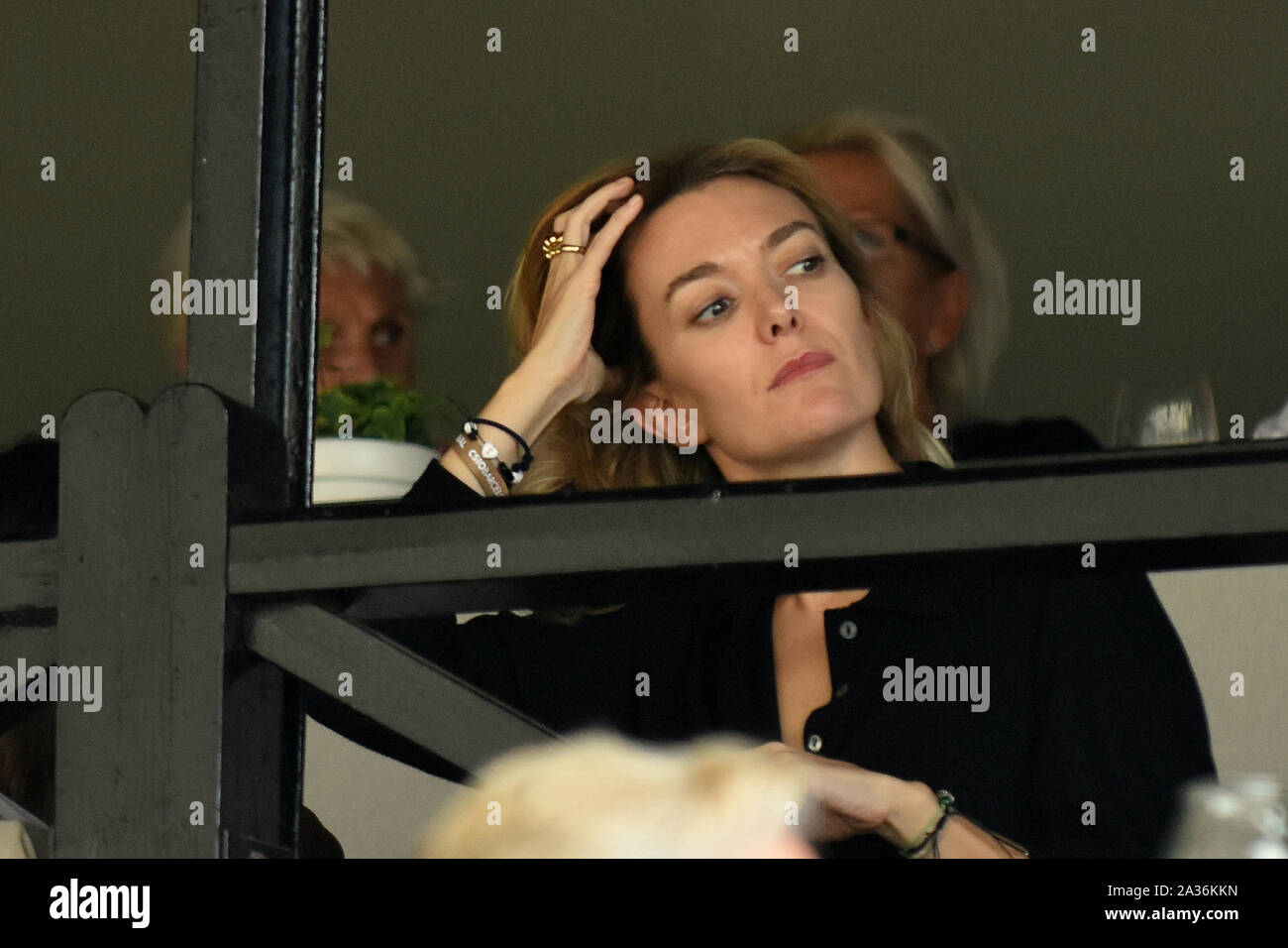 Barcelona, Spain. 05th Oct, 2019. The daughter of Amancio Ortega and heiress of the Inditex Group, Marta Ortega at the Longines FEI Jumping Nations Cup Final in Barcelona CSIO 2019. Credit: SOPA Images Limited/Alamy Live News Stock Photo