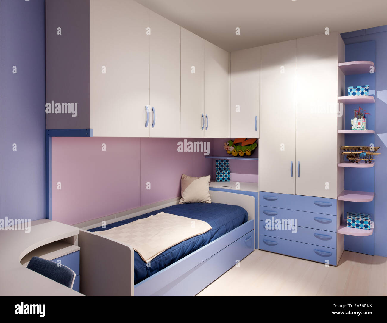 Kids Bedroom Desk High Resolution Stock Photography And Images Alamy