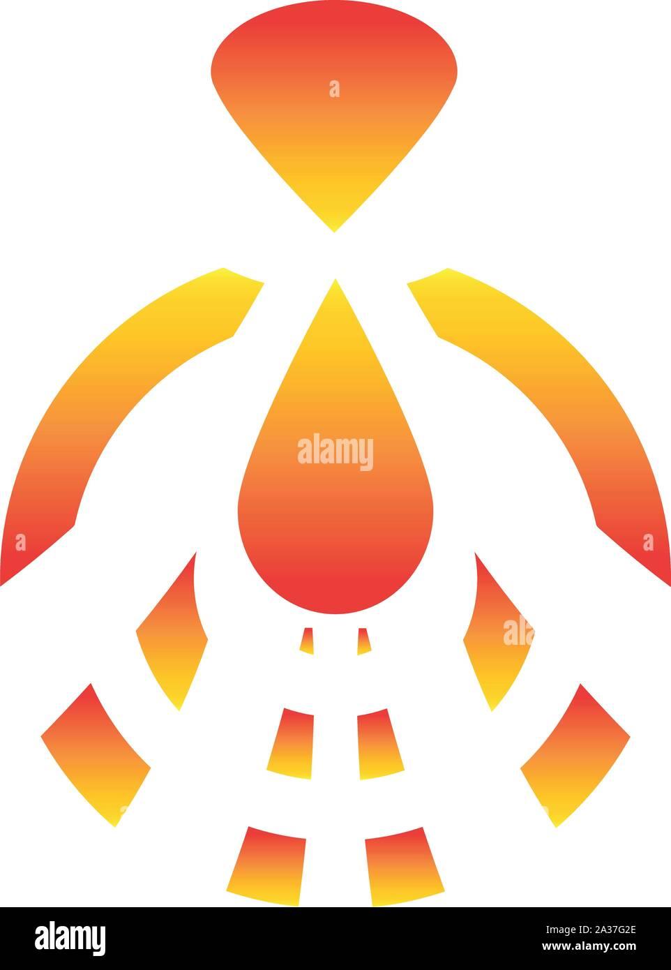 Firebird, bird, logo Stock Vector