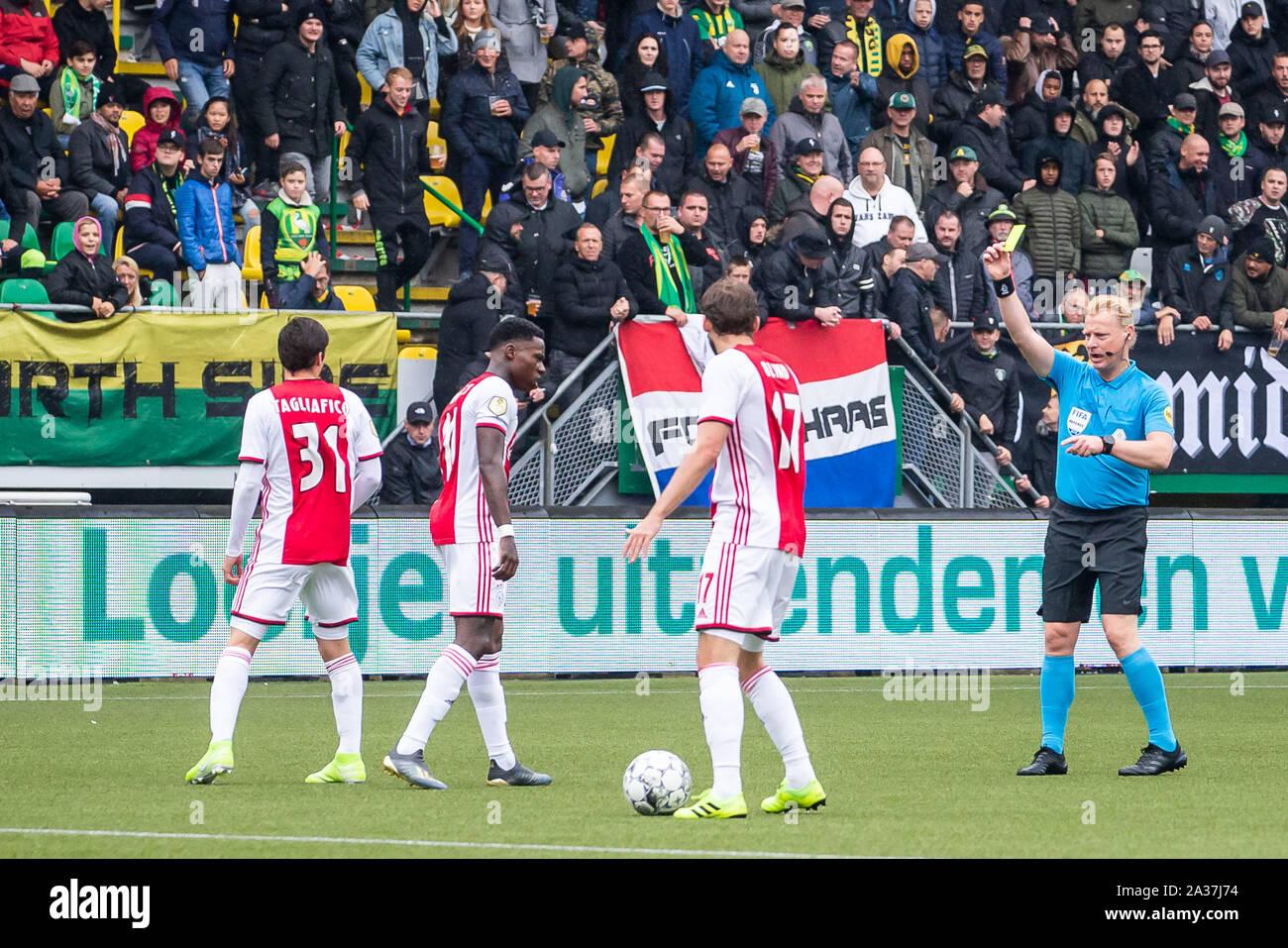 Den Haag Netherlands 06th Oct 2019 Football Dutch Eredivisie Season 2019 2020 Cars Jeans Stadion Ado