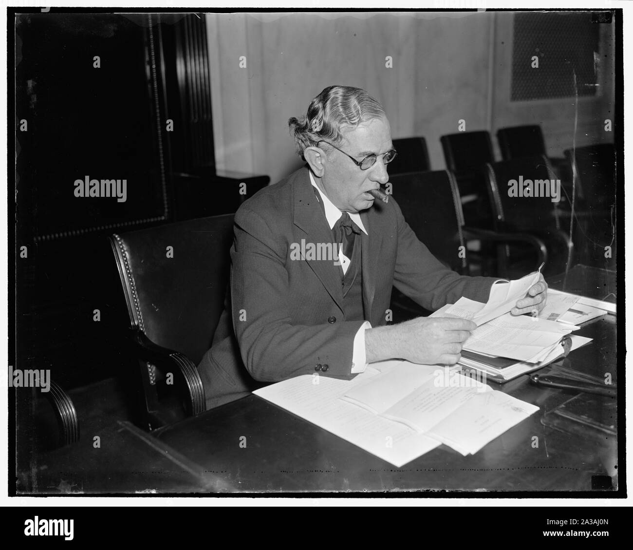 Senator Tom. Connally of Texas Stock Photo - Alamy