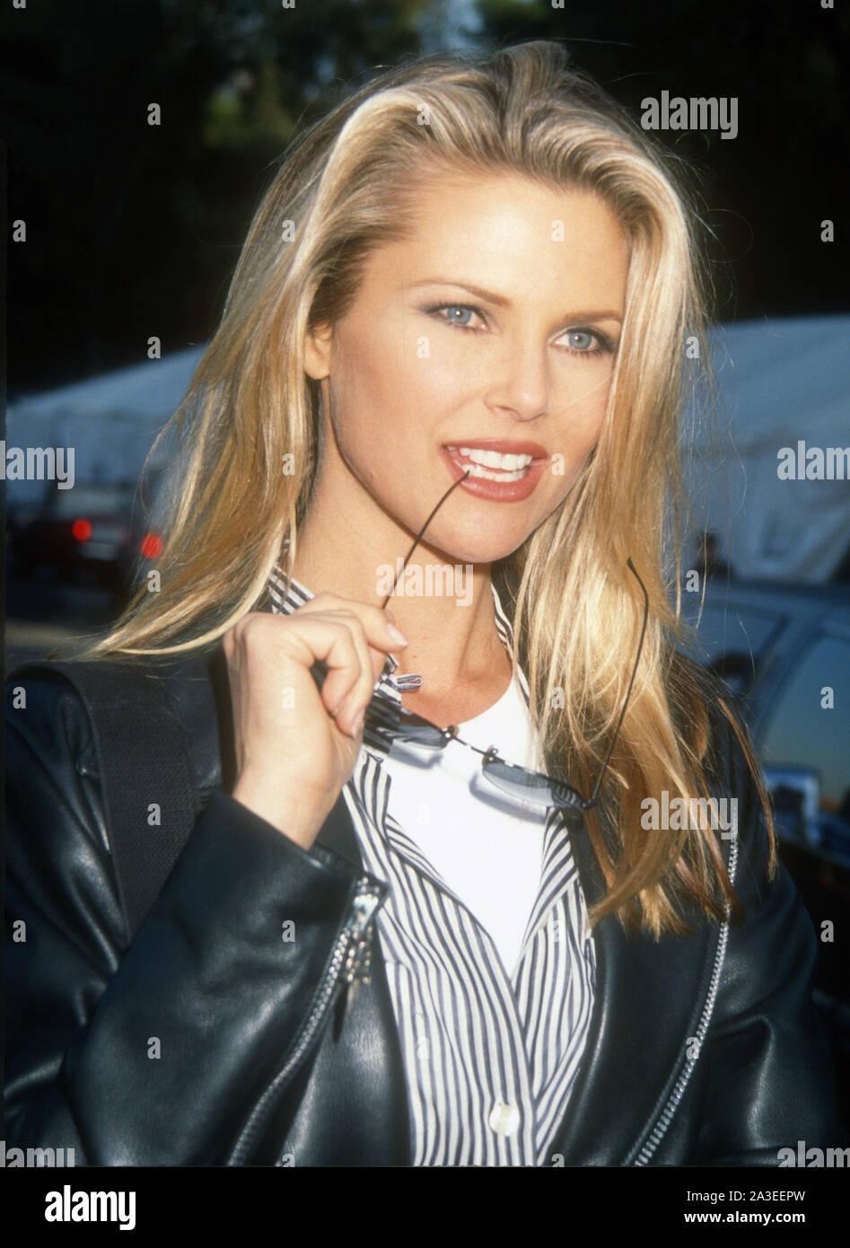 Christie Brinkley, 1992, Photo By Michael Ferguson/PHOTOlink Stock Photo