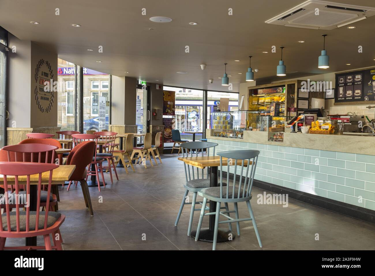 Coffee Shop Interior Costa Stock Photos Coffee Shop