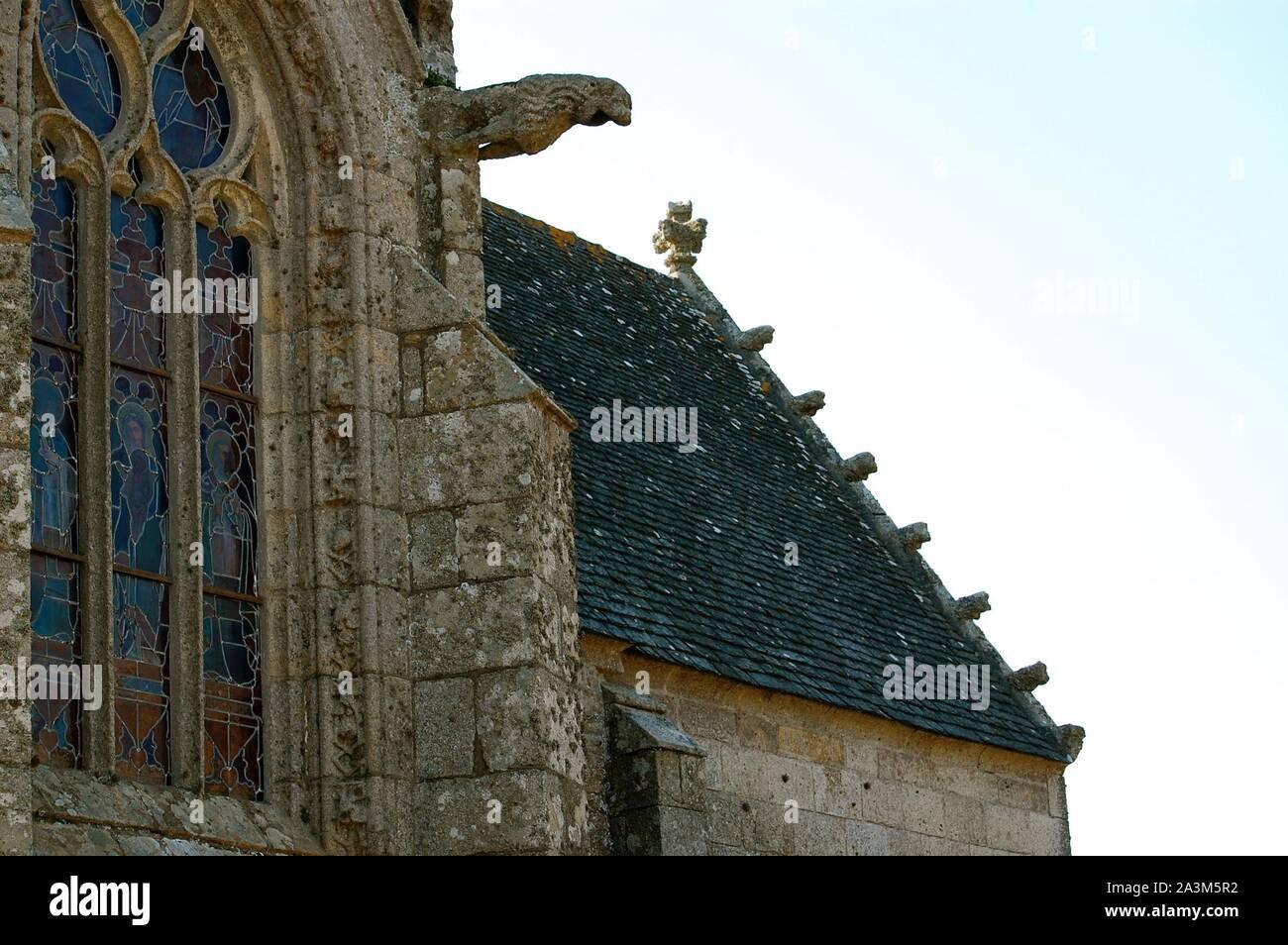 Tredrez, Eglise Notre Dame 220411 Stock Photo
