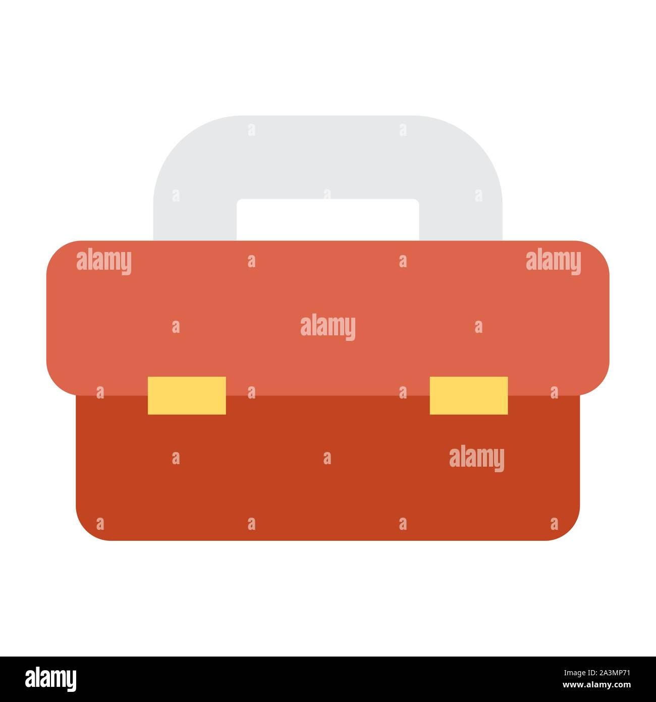 tool box equipment isolated icon Stock Vector