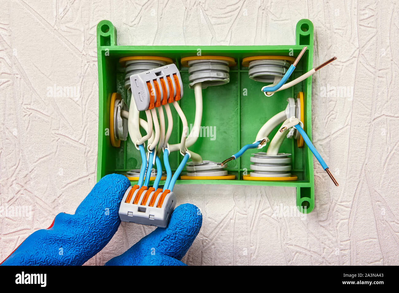 Installation of a junction box in a home electricity system ... on junction box accessories, junction box lighting, junction box connectors, junction box concrete, junction box battery, junction box conduit, junction box electrical, junction box cable, junction box terminals, junction box power, junction box installation, junction solutions, junction box transformer, junction box dimensions, junction box connections,