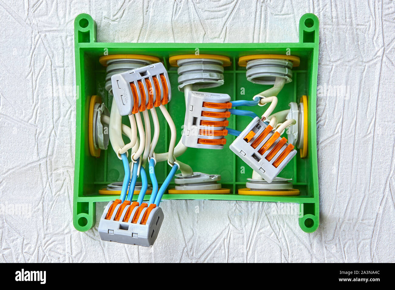 Domestic Electrical Installation High Resolution Stock Photography And Images Alamy
