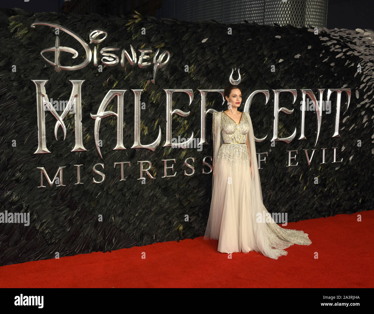 Maleficent Premiere London Stock Photos Maleficent