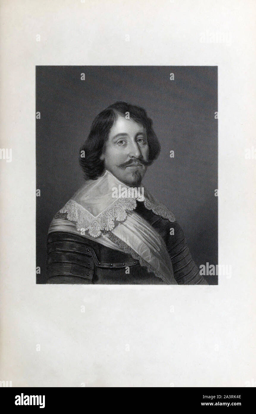 Archibald Campbell, 1st Marquess of Argyll, 8th Earl of Argyll, chief of Clan Campbell, (1607 – 1661) was a Scottish nobleman, politician, and peer. T Stock Photo