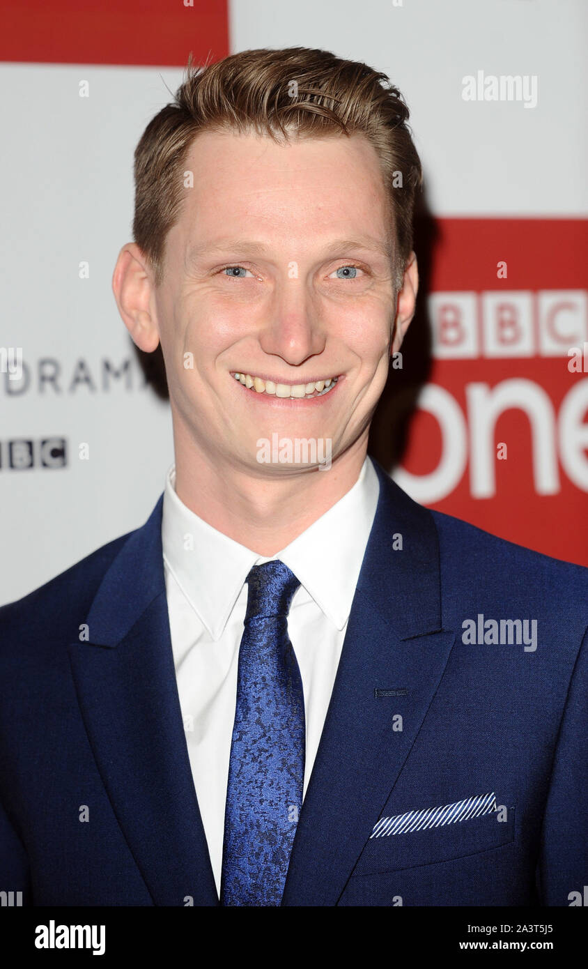 Photo Must Be Credited ©Kate Green/Alpha Press 079965 14/12/2015 Tom Harper BBC One drama, War & Peace Photocall The Mayfair Hotel London Stock Photo