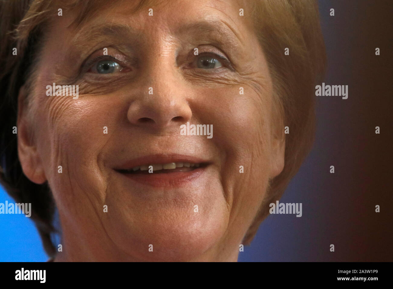 Angela Merkel - Treffen der dt. Bundeskanzlerin mit dem ukrainischen Praesidenten, Bundeskanzleramt, 18. Juni 2019, Berlin/ Angela Merkel - meeting of Stock Photo