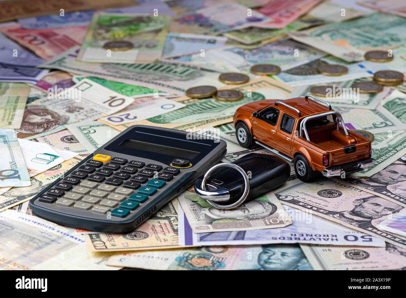 Renting A Pickup High Resolution Stock Photography And Images Alamy