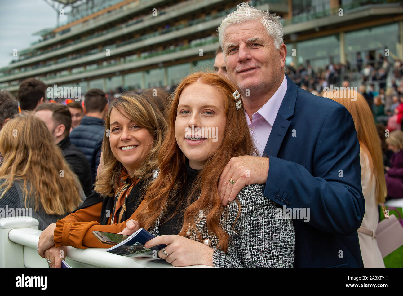 Autumn Racing Weekend & Ascot Beer Festival, Ascot Racecourse, Ascot, Berkshire, UK. 5th October, 2019. A family day out at Ascot. Credit: Maureen McLean/Alamy Stock Photo