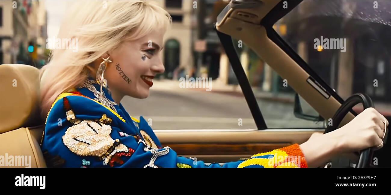 Usa Margot Robbie In A Scene From The C Warner Bros New Movie Birds Of Prey