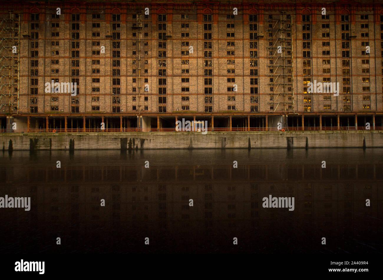 Stanley Dock, Regent Rd, development in Liverpool docks Stock Photo
