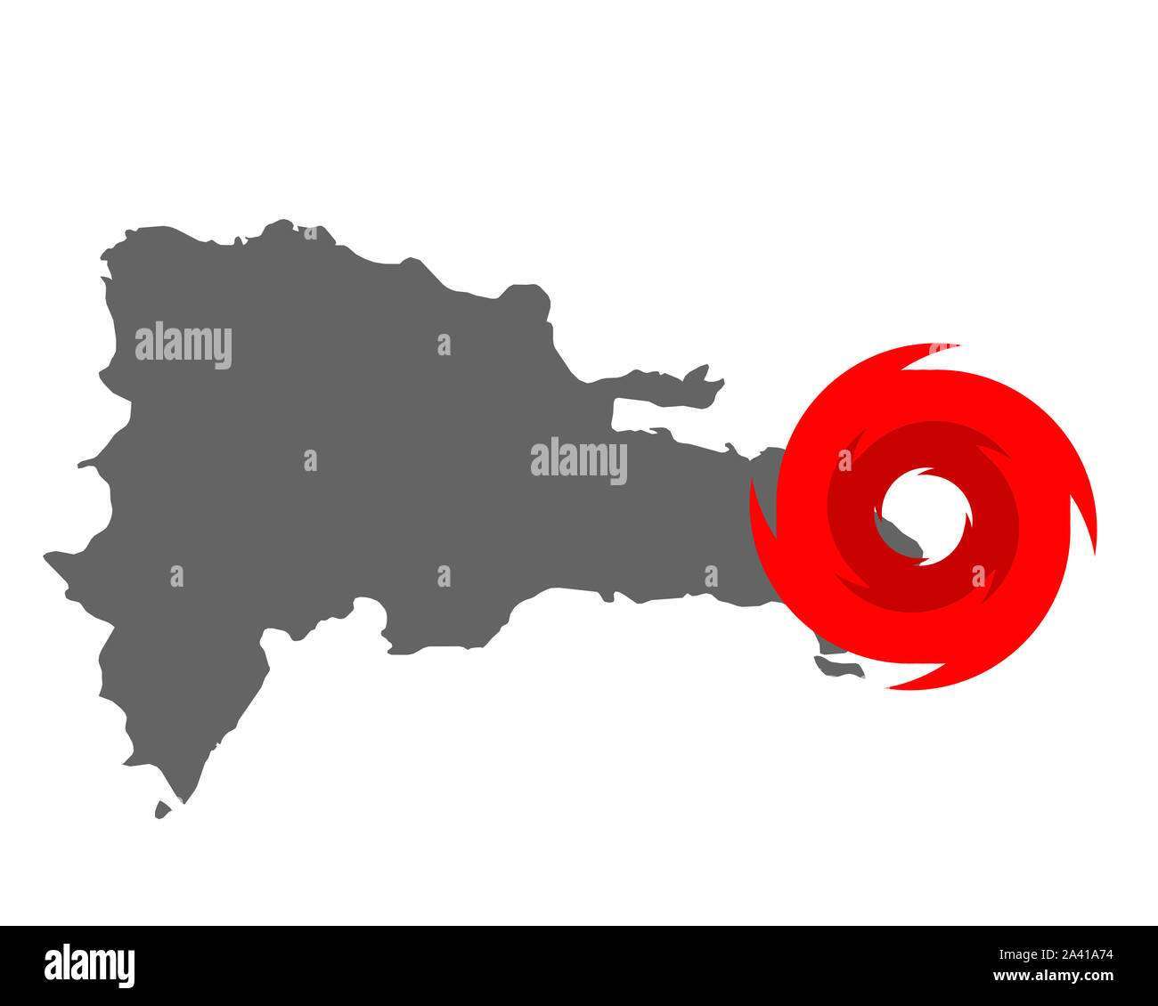 Map Of The Dominican Republic And Hurricane Symbol Stock Photo Alamy Come to pngtree download free. alamy