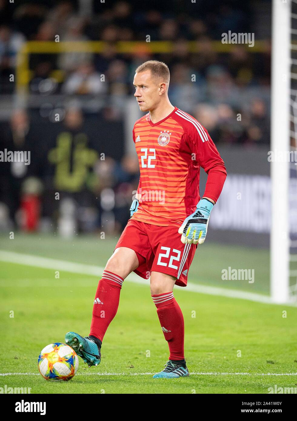 Goalkeeper Marc-Andre TER STEGEN (GER) Promotion, Football Laenderspiel, Friendly Match, Germany (GER) - Argentina (ARG) 2: 2, on 09/10/2019 in Dortmund/Germany. ¬ | usage worldwide Stock Photo