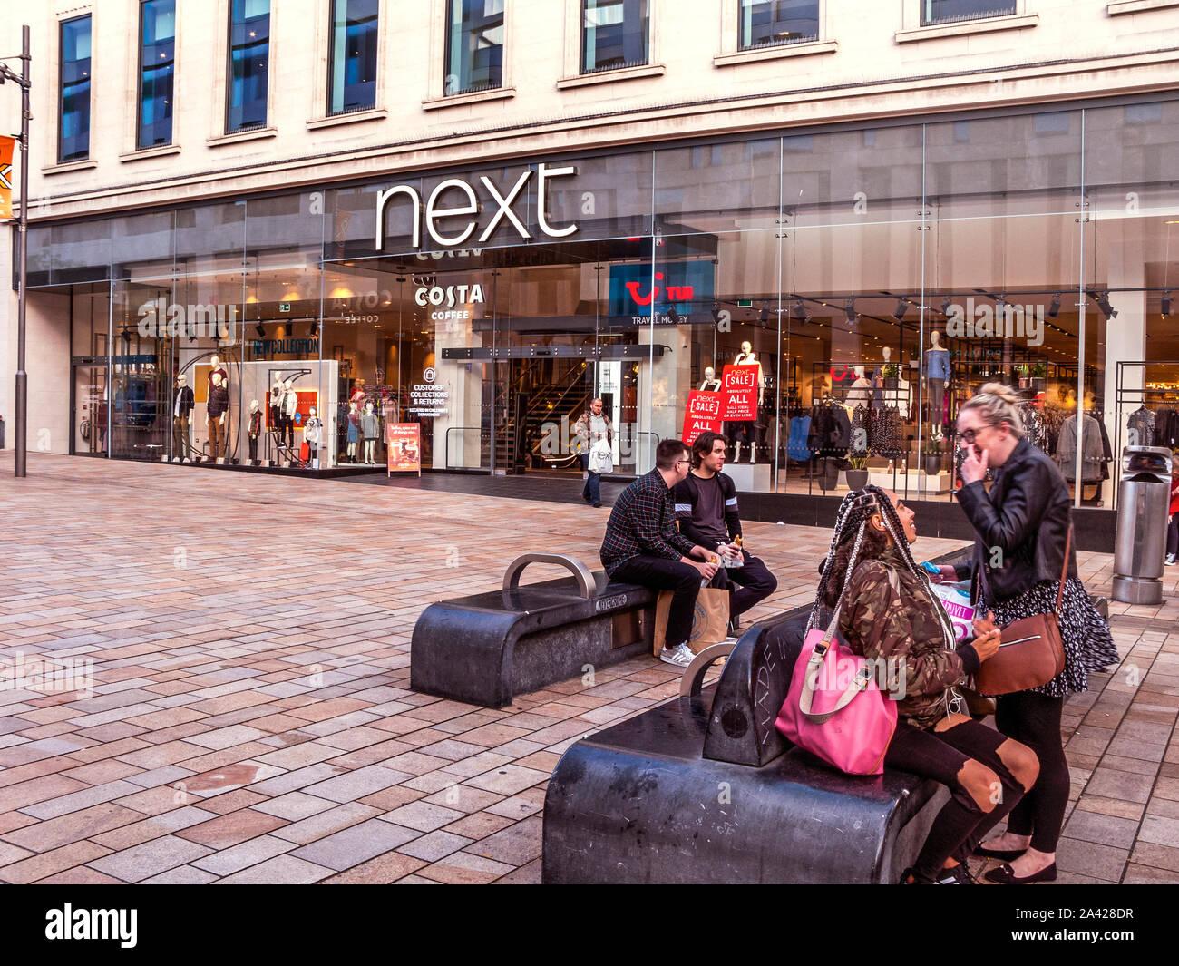 Next The Moor Sheffield Stock Photo 329506179 Alamy