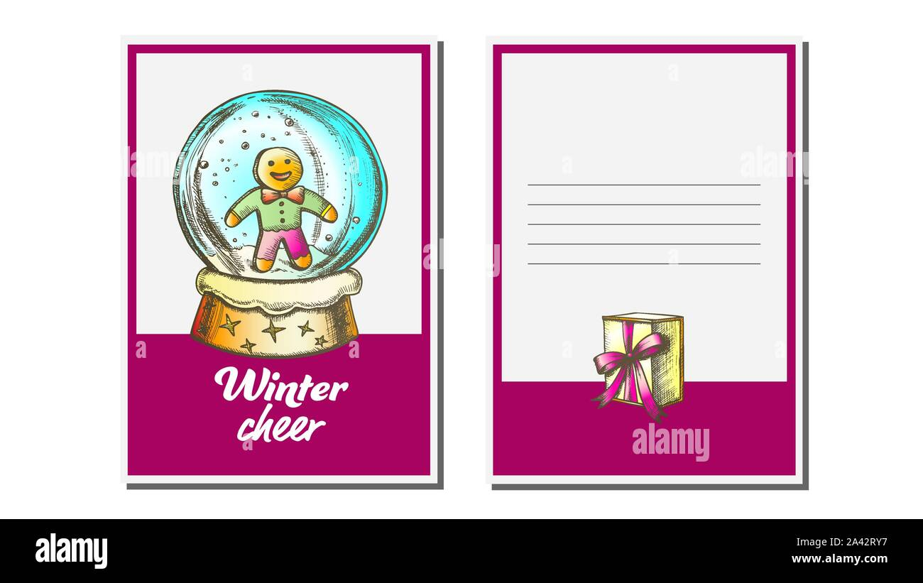 Christmas Snow Globe Sketch High Resolution Stock Photography And Images Alamy