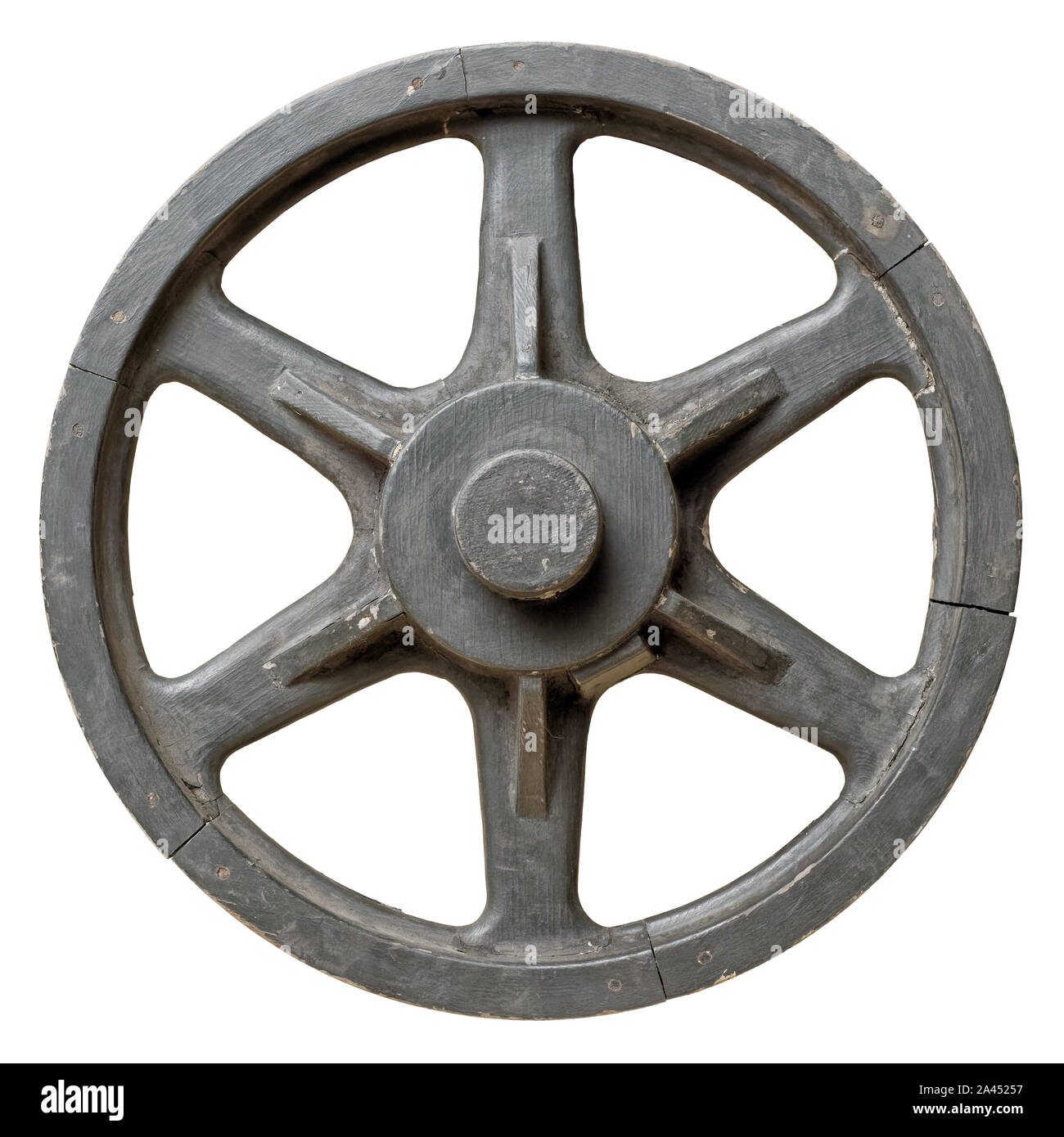 Brilliant Antique Wagon Wheel Cut Out Stock Images Pictures Alamy Beatyapartments Chair Design Images Beatyapartmentscom