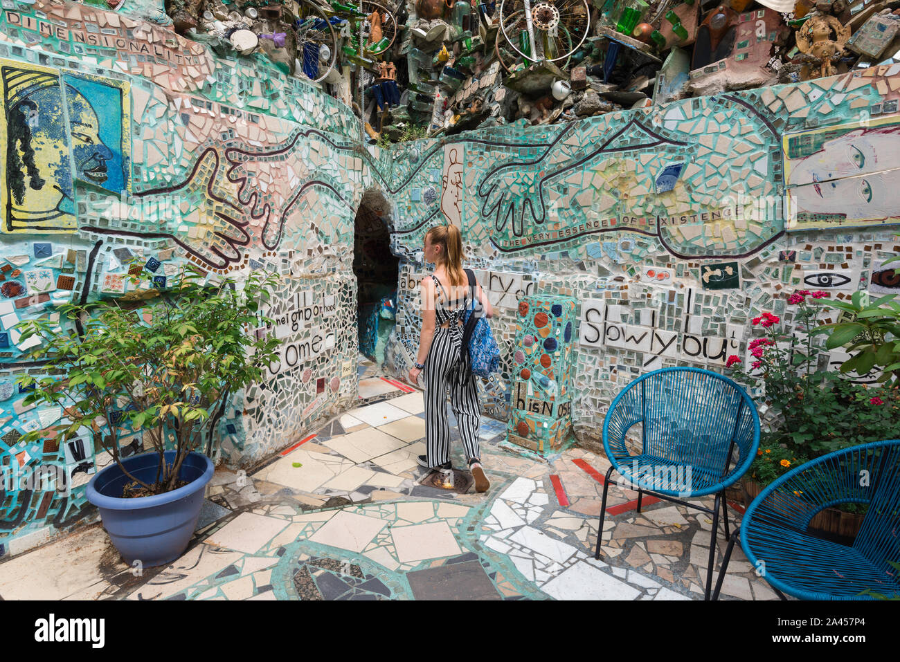 Philadelphia Magic Gardens Stock Photos Philadelphia Magic